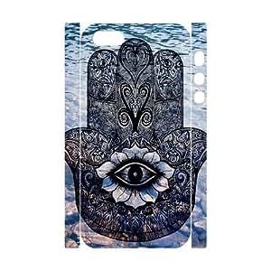 Evil Eye Hamsa Brand New 3D Cover Case for Iphone 5,5S,diy case cover ygtg611234