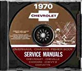 1970 CHEVROLET CAMARO FACTORY REPAIR SHOP & SERVICE MANUAL INCLUDES: Standard Camaro, Sport Coupe, Rally Sport, RS, SS, Z-28, Coupe, Convertible, CHEVY 70
