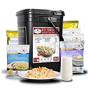 Amazon.com : Wise Company Emergency Food Variety Pack (104