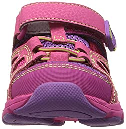 Stride Rite Made 2 Play Scout Water Shoe, Pink, 13.5 M US Little Kid
