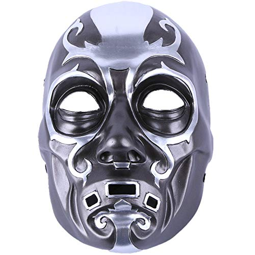 Death Eater Mask Masquerade Cosplay Halloween Mask Top Grate Resin Collection Man Helmet Movie Theme of Harry Porter