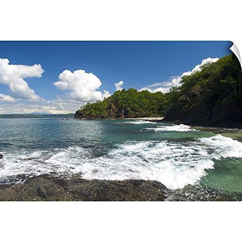 Papagayo Wall Decor - Surf on The Beach, Costa Rica Beach, La Punta Papagayo Wall Peel Art Print, 18