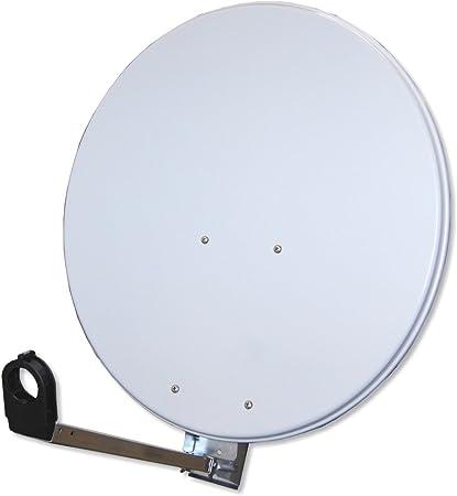 Antena Gibertini 60 – 65 cm Aluminio unverpackt Gris Claro Sat Espejo Cuenco
