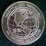 1 Troy Oz .999 Silver Cryptocurrency Bitcoin