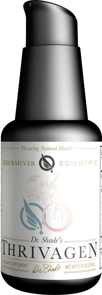Quicksilver Scientific Thrivagen - Liposomal Adaptogenic Elixir for Total Women's Well Being with Energy + Balance Supportive Adaptogenic Botanicals (1.7 Ounces, 50 Milliliters)