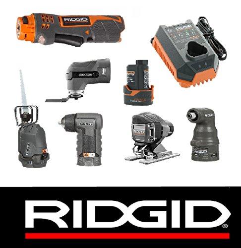 Ridgid 12v Jobmax Power Handle + Drill, Impact, Sawsall, Jig