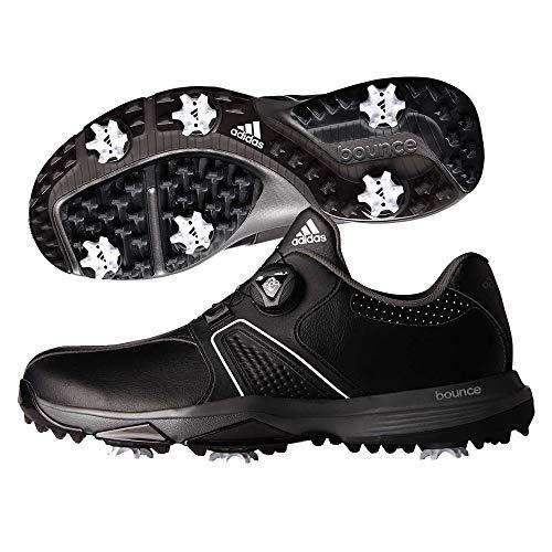 xion BOA Golf Shoe, CORE BLACK/FOOTWEAR WHITE/DARK SILVER METALLIC, 10 M US ()