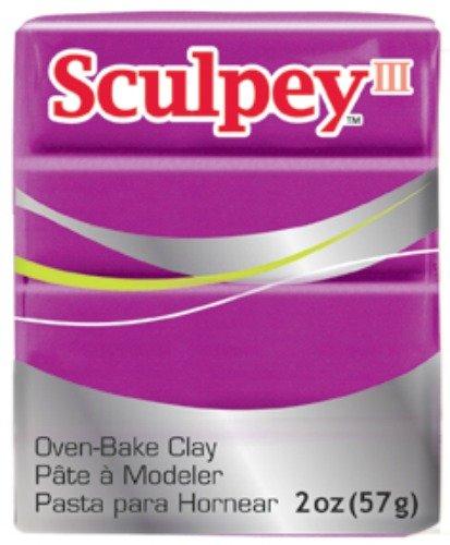 2-Ounce Polyform Sculpey III Polymer Clay Black