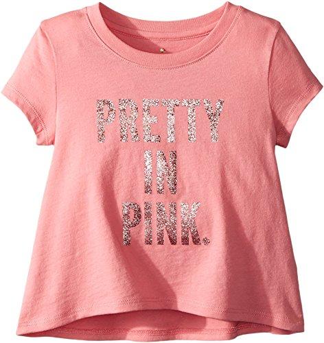 Kate Spade New York Kids Baby Girl's Pretty In Pink Swing Tee (Toddler/Little Kids) Berber Pink 4 -  93E24065-69-662