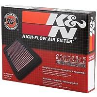 K&N KA-2508 Filtro de aire de reemplazo de alto rendimiento Kawasaki