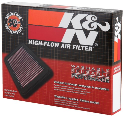 K&N KA-2508 Kawasaki High Performance Replacement Air Filter ()