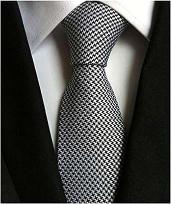 ADELINA Corbatas Poliéster 2019 8 cm hombres corbata negocio ...