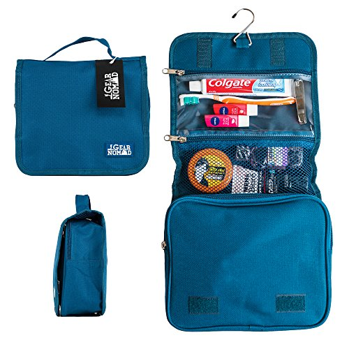 GearNomad Toiletry Organizer Grooming Essentials