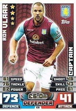 Match Attax Extra 2014/2015 Ron Vlaar (Aston Villa) Captain ...