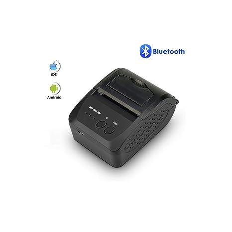 OXHARY Impresora térmica de Recibos Bluetooth de 80 mm ...