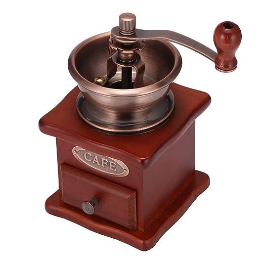 OurLeeme Molinillo de café manual, molinillo de café en grano ...