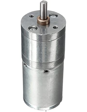 Gazechimp 1x Motor Reductor de Caja de Engranajes DC en Miniatura JGA25-370 de Color