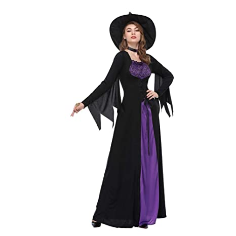 Amazon.com: NFY Sexy Halloween Womens Clothing Scary Witch ...