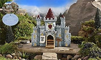 Amazoncom Miniature Fairy Garden Medieval Times Castle Patio