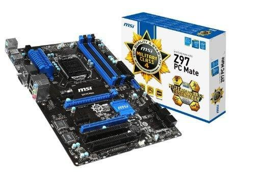 MSI Intel Z97 LGA 1150 DDR3 USB 3.0 ATX Motherboard