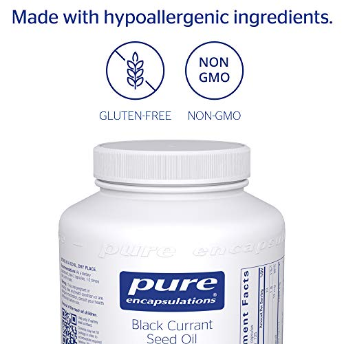 Pure Encapsulations - Black Currant Seed Oil - Hypoallergenic Dietary Supplement - 250 Softgel Capsules by Pure Encapsulations (Image #3)