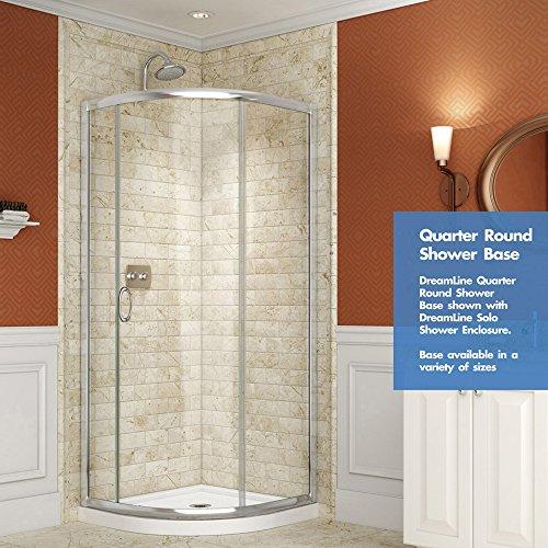 Superieur DreamLine SlimLine 38 In. X 38 In. Quarter Round Shower Tray, DLT 7038380    Shower Systems   Amazon.com
