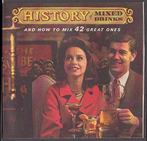 Southern Comfort History of Mixed Drinks advertising insert 1965