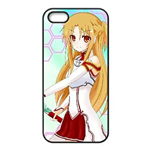 HD exquisite image for iPhone 5 5s Cell Phone Case Black asuna sword art online MIO9251153