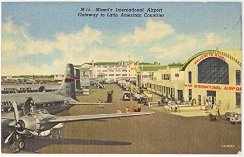 Postcard Vintage Airline - 7