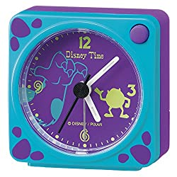 SEIKO CLOCK ( Seiko clock ) Disney Sally microphone quartz alarm clock ( black paint ) FD468K FD472L