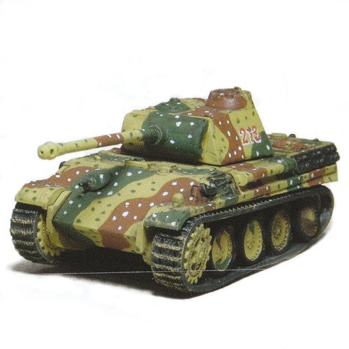 Battle Tank Kit Collection Trading Figures - Vol 1 - German Panther Ausf G 1944 (Camo - Light - 1/144 Scale)