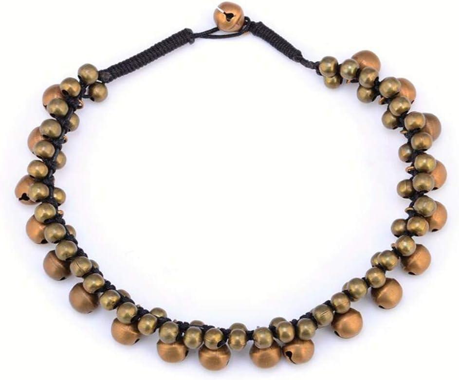 ZYYXB Bracelets de Cheville de Pied de la cha/îne de Bronze Cloche de Cheville Boh/ême Boho Pieds Nus Sandales Accessoires Femmes Beach Girls Bijoux Cadeaux