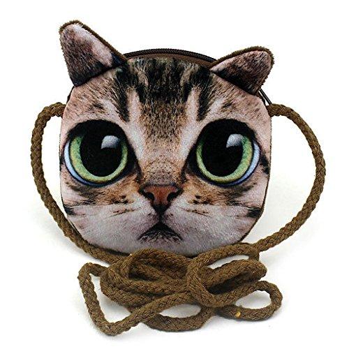 Purse Bag Children Printed Animal for JAGENIE Children 2 Kids Crossbody Coin 8 Shoulder Cute qt48tfXw