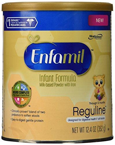 Enfamil Reguline Infant Formula - Designed for Soft, Comfortable Stools - Powder Can, 12.4 (Soft Formula)