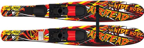 AIRHEAD WIDE BODY Combo Skis, 53'', pair by Airhead