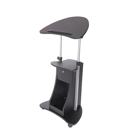 amazon.com: techni mobili deluxe rolling laptop cart with storage ... - Mobili Tv Amazon