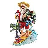 Department 56 Possible Dreams Santas Margaritaville YOLO Figurine, 12.5'', Multicolor