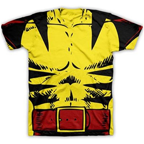 [Wolverine - Costume Tee T-Shirt Size S] (Wolverine Costume Tee)