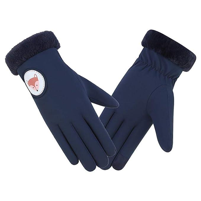 b006c93c1f652d OSYARD Damen Handschuhe Winterhandschuhe Smartphone Touch Screen Fäustlinge  Winter Warme Gloves für Outdoor Sport, Frauen Winddicht Wasserdicht Fahrrad  ...