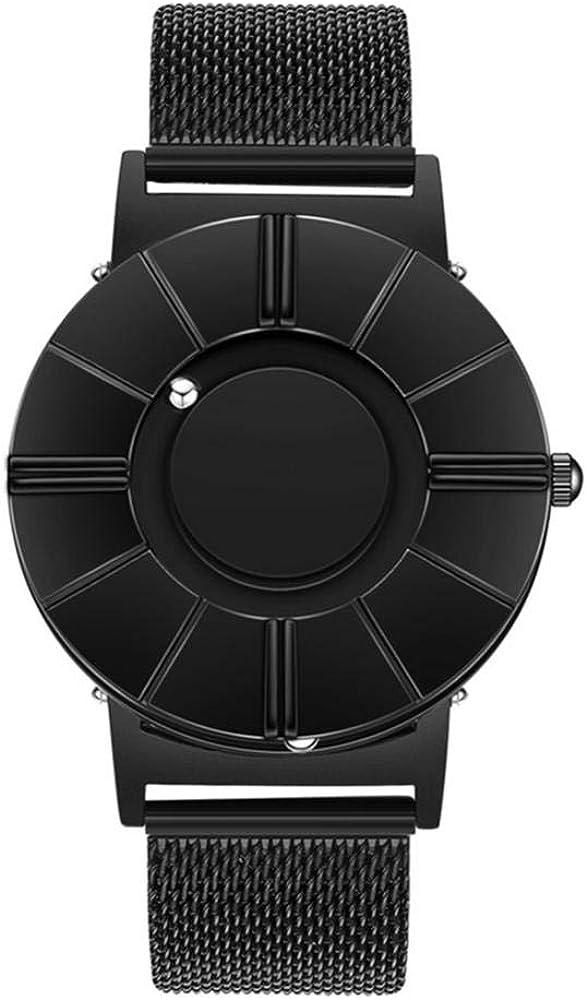Relojes de Pulsera Reloj De Marcación Numérica Romana para Hombres Reloj De Cuarzo Casual De Moda para Hombres Reloj De Correa De Lona para Estudiantes Jóvenes