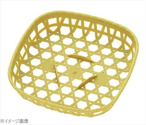 竹ザル風 角 プラザル(10個入)グリーン 5802 150