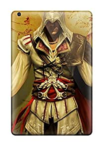 Ipad Mini/mini 2 Case Cover - Slim Fit Tpu Protector Shock Absorbent Case (assassins Creed Video Game Other)