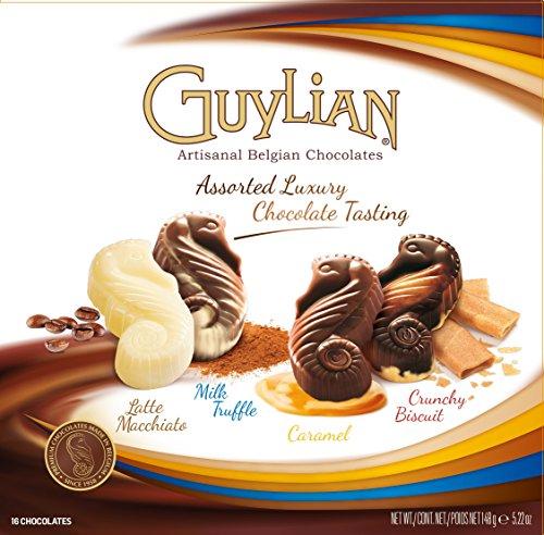 guylian-belgium-chocolates-16-piece-luxury-tasting-seahorse-truffle-52-ounce-pack-of-12