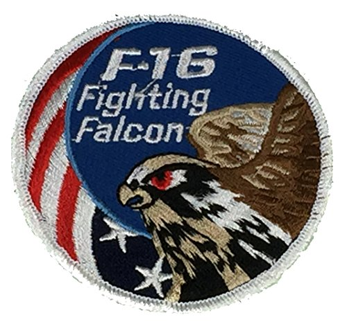 Used, U.S. AIR FORCE F-16 FIGHTING FALCON ROUND PATCH - Color for sale  Delivered anywhere in USA