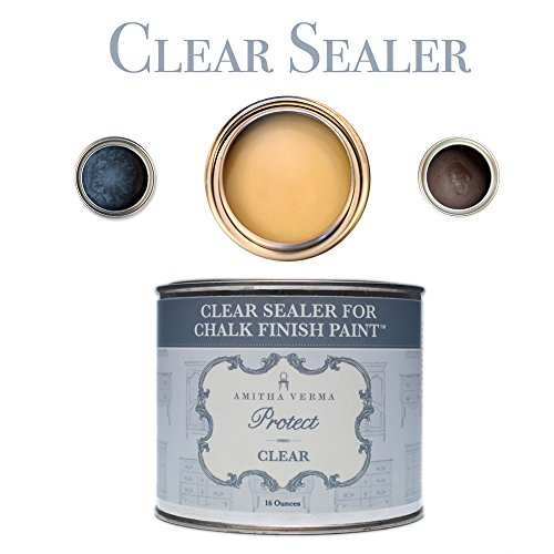 Amitha Verma Clear Wax and Sealer for Chalk Finish Paint ...
