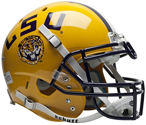 NCAA LSU Tigers Authentic XP Football Helmet by Schutt