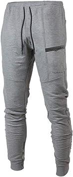 Fiyomet Pantalones de chándal para Hombre Jogger Fitness ...
