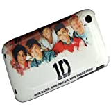 One Direction 1D Case For Apple iPhone 3 3G 3Gs White Hard Back Cover