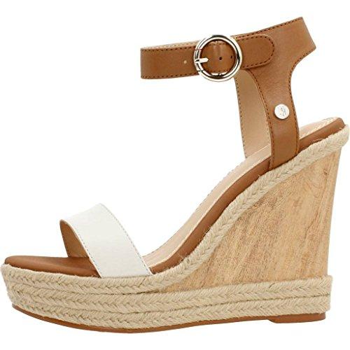 Sandalen/Sandaletten, farbe Beige , marke TOMMY HILFIGER, modell Sandalen/Sandaletten TOMMY HILFIGER BEATRICE 6A Beige Bianco / Cuoio