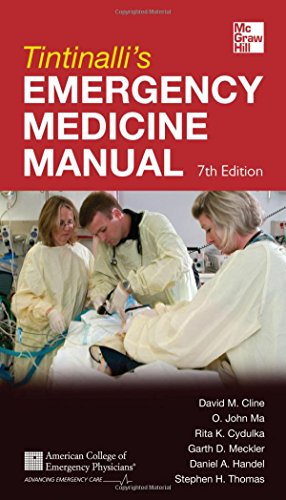 Tintinalli's Emergency Medicine Manual 7th Edition (Emergency Medicine (Emergency Medicine Trauma)